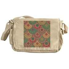 Antique Pastel Pattern Messenger Bag