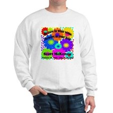 Be sure to wear some flowers Sweater