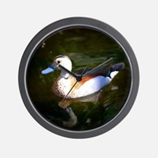 FLOATING DUCK Wall Clock