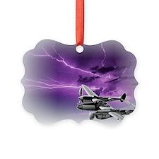 P 38 Lightning Ornament