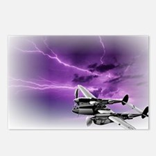 P 38 Lightning Postcards (Package of 8)
