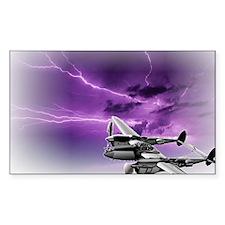 P 38 Lightning Decal