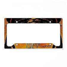 Halloween Skeleton License Plate Holder