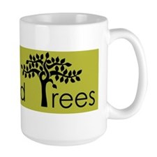 black on gingko Richmond Trees Mug