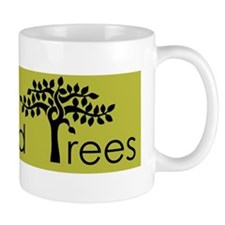 black on gingko Richmond Trees Mug