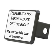 The Rich Need Help Hitch Cover