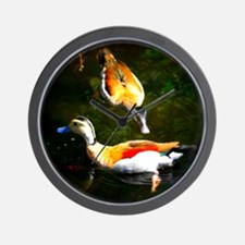 Ducks On the Pond II Wall Clock