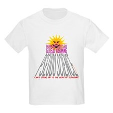 Global Warming Pseudoscience Kids T-Shirt