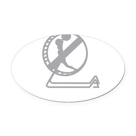 Lab Rats 2012 Oval Car Magnet