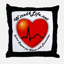 Wired4Life Throw Pillow