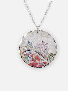Vintage Floral Pattern Necklace