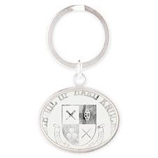 School of Hard Knocks - Light Oval Keychain