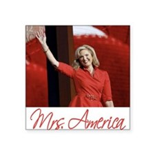 "Ann Romney Election 2012 Square Sticker 3"" x 3"""