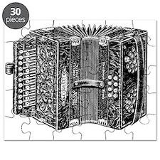 Vintage Accordion Puzzle