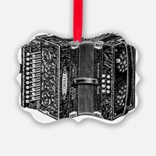 Vintage Accordion Ornament