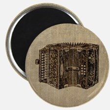 Vintage Accordion Magnet