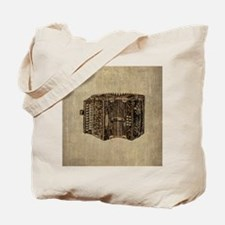 Vintage Accordion Tote Bag