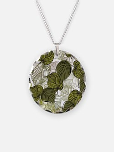 Leaf Pattern Necklace