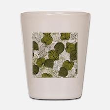 Leaf Pattern Shot Glass