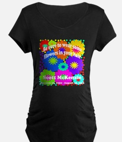 Be sure to wear some flower T-Shirt