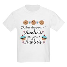 What happens at Auntie's stays at Auntie's T-Shirt