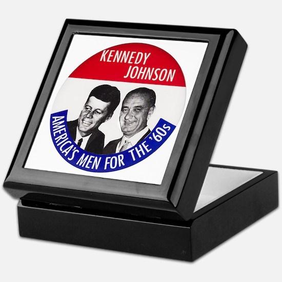 KENNEDY / JOHNSON Keepsake Box