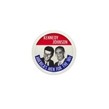 KENNEDY / JOHNSON Mini Button