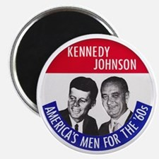 KENNEDY / JOHNSON Magnet