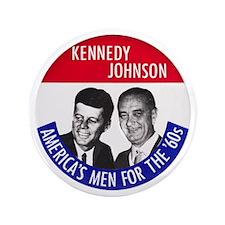 "KENNEDY / JOHNSON 3.5"" Button"