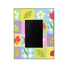 Colorful Patchwork Picture Frame
