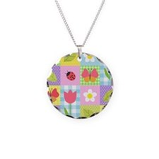 Colorful Patchwork Necklace