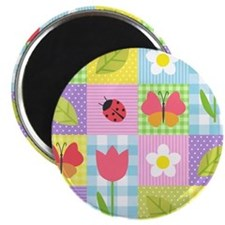 Colorful Patchwork Magnet