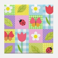 Colorful Patchwork Tile Coaster