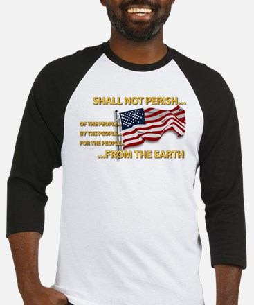 USA - Shall Not Perish Baseball Jersey