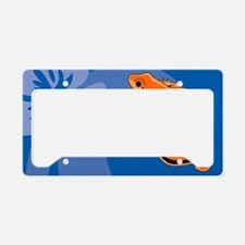 Newt Car Magnet 20 x 12 License Plate Holder