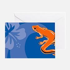 Newt Car Magnet 20 x 12 Greeting Card