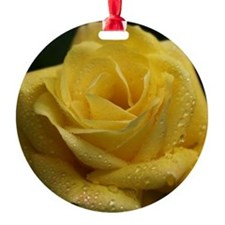 The Yellow Rose Ornament