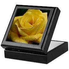 The Yellow Rose Keepsake Box