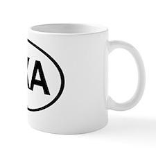 OvalAnguilla Mug