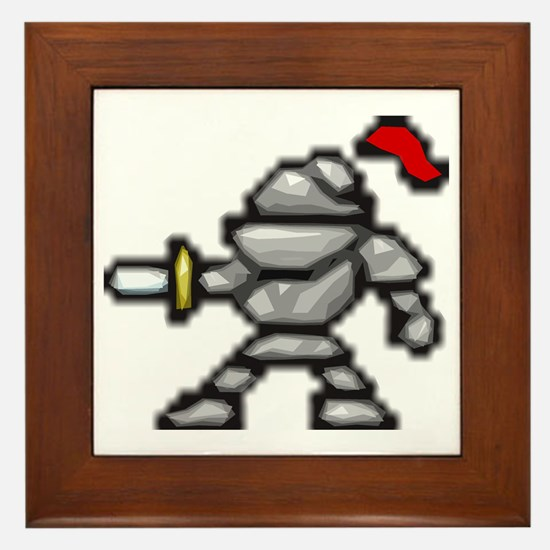knightscharge Framed Tile