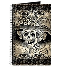 Vintage Catrina Calavera Journal