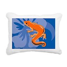 Newt Banner Rectangular Canvas Pillow