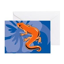 Newt Banner Greeting Card