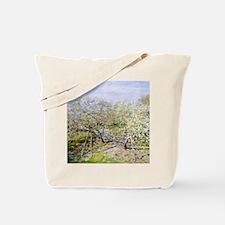 Monet Apple Trees Tote Bag