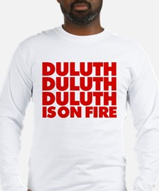 duluth-red Long Sleeve T-Shirt