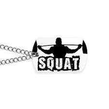 Squat Design. Black. Dog Tags