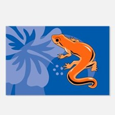 Newt Picture Ornament Postcards (Package of 8)