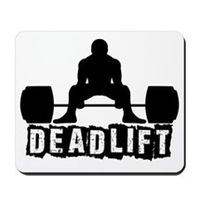 Deadlift Black Mousepad