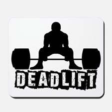 Deadlift Black Mousepad