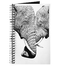 African Elephants Wall Decal Journal
